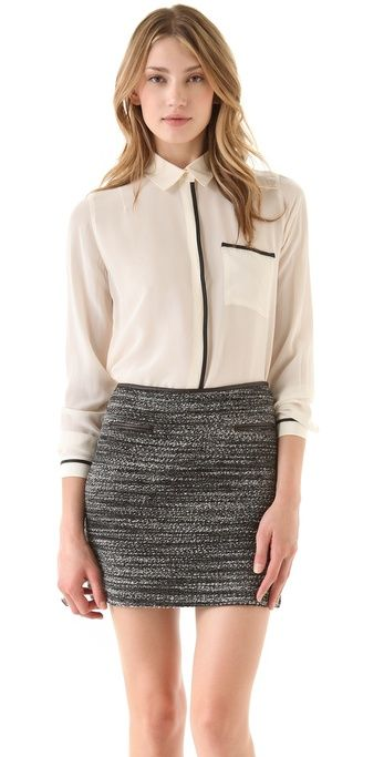 club monaco... loving the skirt
