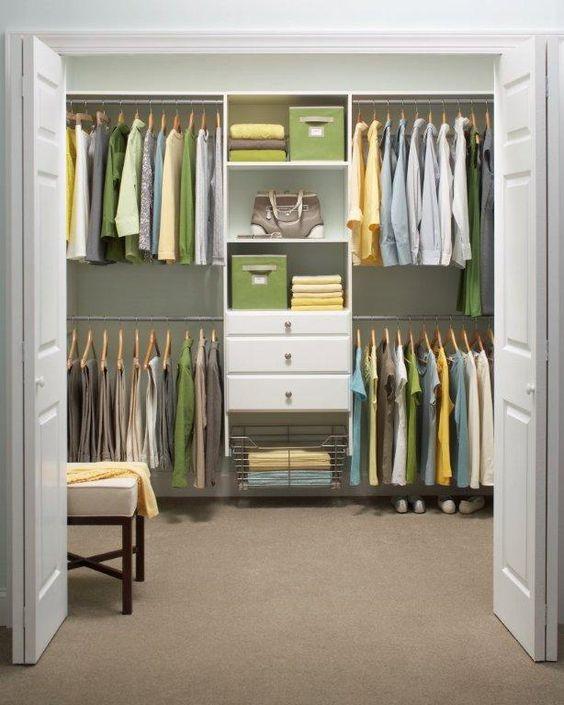 Closet, Clutter And Martha Stewart On Pinterest