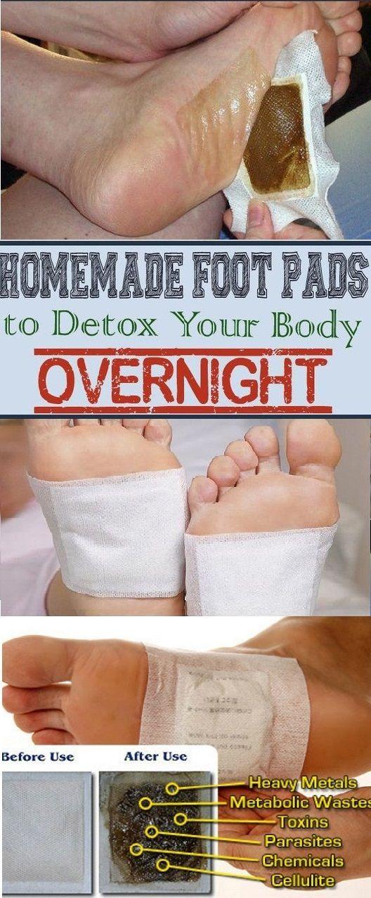 Crazywomens Overnight Homemade Detox Foot Pads Your Body Make Them How Can You Tohomemade Foot Pads To Deto Detox Your Body Foot Detox Pads Detox