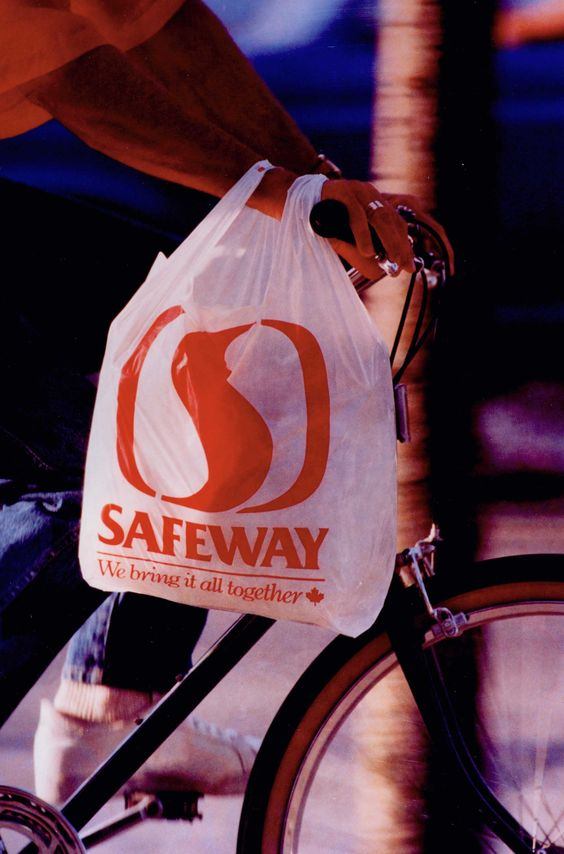 Throwback to an old #Safeway Bag! Safeway Throwback Pinterest - courtesy clerk
