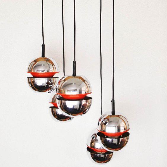 retro hanglamp chomen bollen design EUR 145