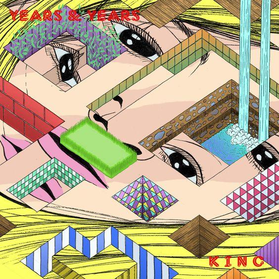 Years & Years – King (single cover art)