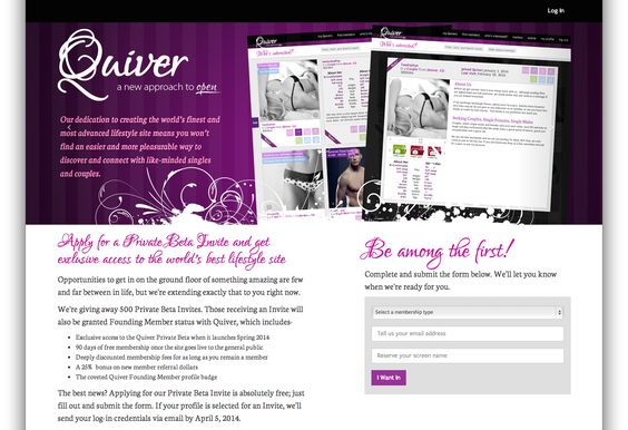 Quiver is coming!  #swingers #lifestyle