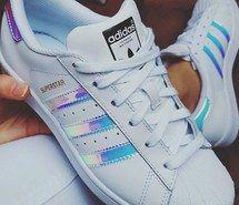 adidas superstar rainbow trainers