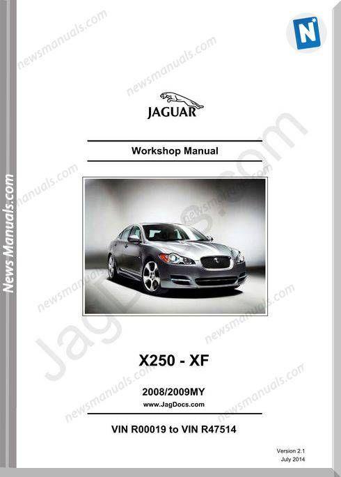 Jaguar X250 Xf Models 2008 2009 Workshop Manual Workshop Manual Electrical Diagram