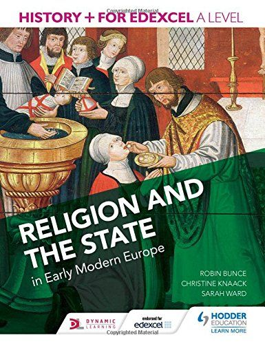 #newbook: Religion and The State./by Robin B. 940.2/KS5EDE