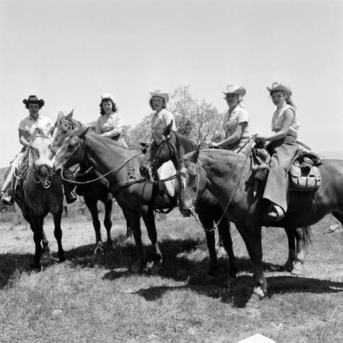 Cowgirls of the 1940's