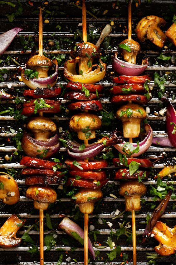 10 tips voor een vega barbecue: