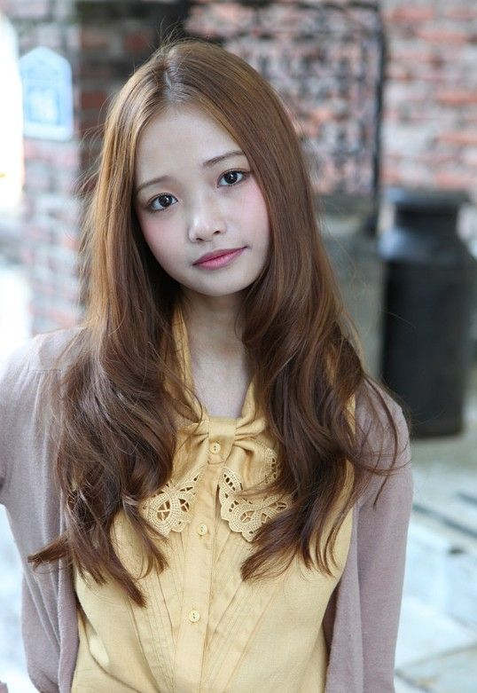 Excellent Long Asian Hairstyles Hairstyles And Korean Celebrities On Pinterest Hairstyles For Women Draintrainus