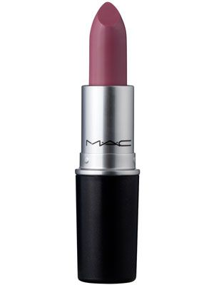 Lavender lips: M.A.C. Lipstick in Snob has cool lilac undertones
