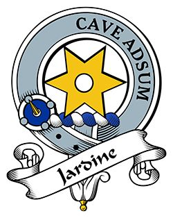 Jardine Family Crest apparel, Jardine Coat of Arms gifts