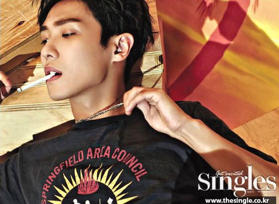 LEE JOON SHOW ATTITUDE FOR AUGUST 2016 SINGLES