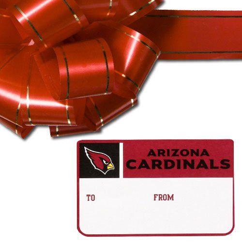 NFL Arizona Cardinals Team Gift Sticker Sheet