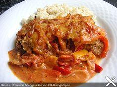 Zigeunerschnitzel aus dem Ofen