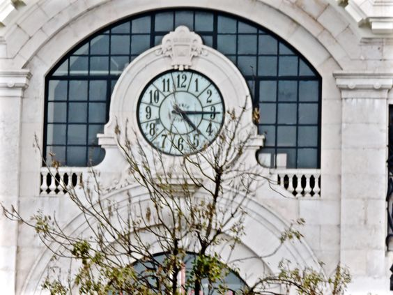 time, reloj Lisboa, Portugal