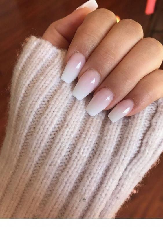 Breathtaking Winter Ombre Nail Design You Have To Want 12