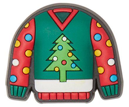 Holiday Tree Sweater Jibbitz Shoe Charm