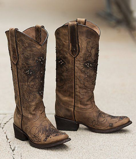 Corral Studded Cowboy Boot - Women&39s Shoes | Buckle | FASHION IS