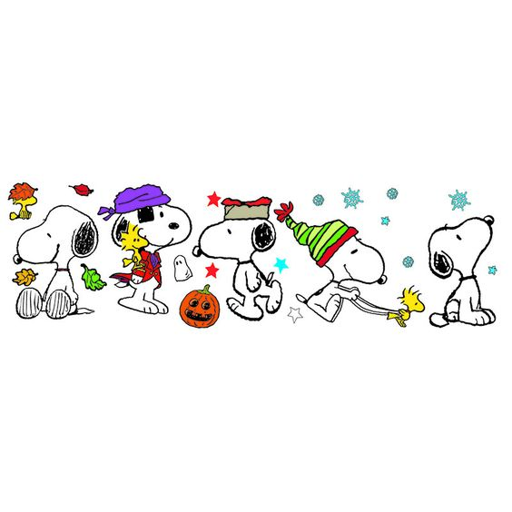 FALL WINTER SNOOPY POSE BB SET