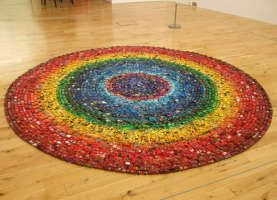@ashley martin  A Rainbow Made Out Of Toy Cars