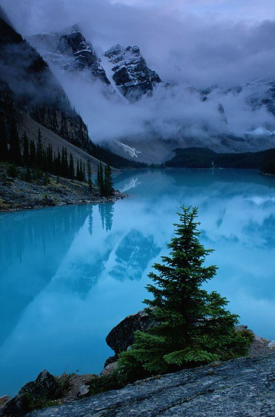 Moraine Lake, Banff National Park, Alberta, Canada ...   and close to home!