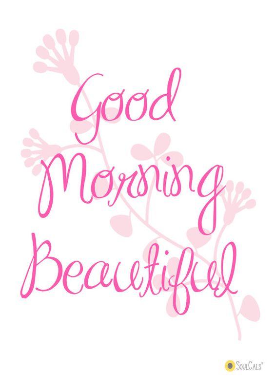 Good Morning...: