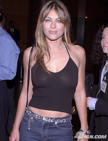 For Babe of the Day and model-turned-actress Elizabeth Hurley, life has been good.    By achieving mainstream attention via her relationship with actor Hugh Grant in the early 1990s, Hurley was propelled into the modeling industry, working primarily for Estée Lauder. In 1995, at age 29, Hurley was formally introduced as the cosmetic company's foremost spokesmodel. At that point Hurley had absolutely no modeling experience, but that didn't keep her down.