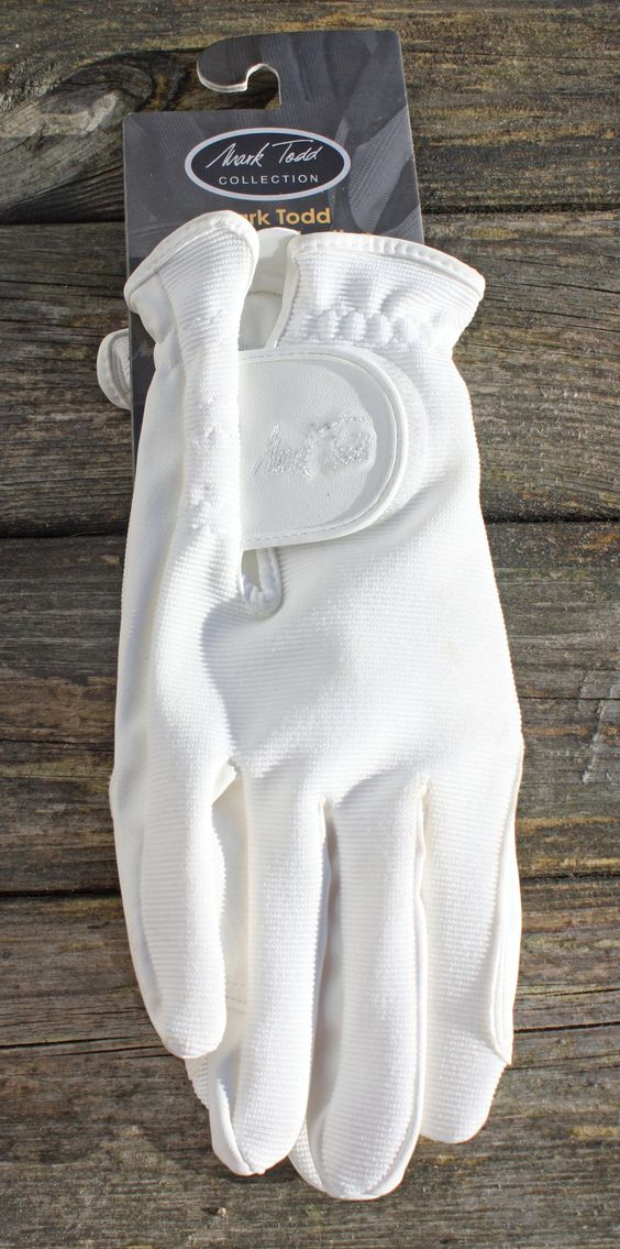 Mark Todd White Gloves, £7.50