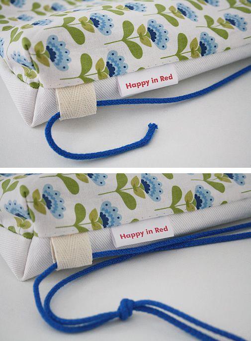 Free sewing pattern: drawstring backpack for kids | Drawstring bag ...