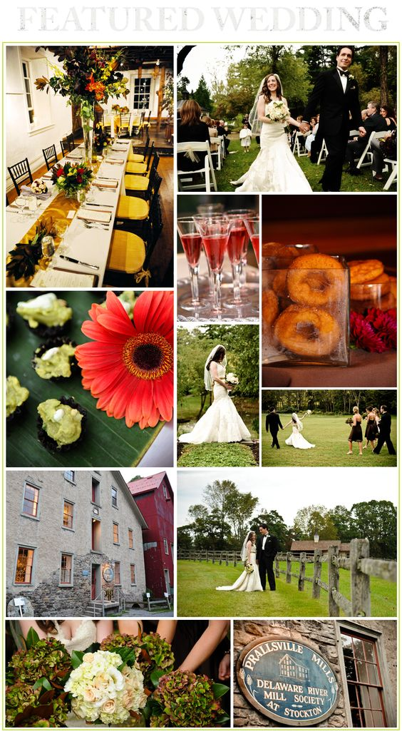 wedding destinations in new jersey%0A Beautiful Wedding at the Historic Prallsville Mills by Emily u    s Cafe  u      Catering  Pennington  New Jersey   Vintage Weddings Ideas  Decor  u     More    Pinterest