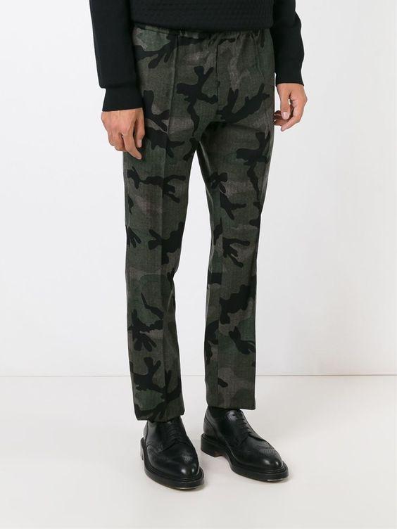 Valentino Camouflage Trousers - Papini - Farfetch.com