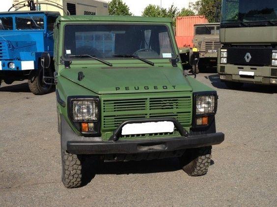 P4 Fraichement Sortie De L Atelier Un Vehicule Tres Bien Fini Framery Vehicules Militaires Voiture Peugeot Voiture Francaise