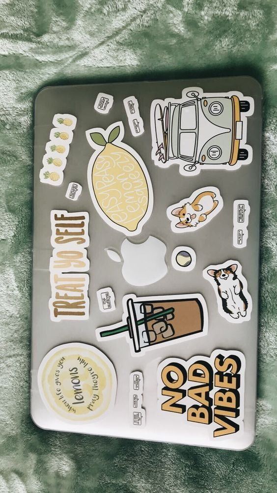 Best Ways To Decorate With Stickers Cute Laptop Stickers