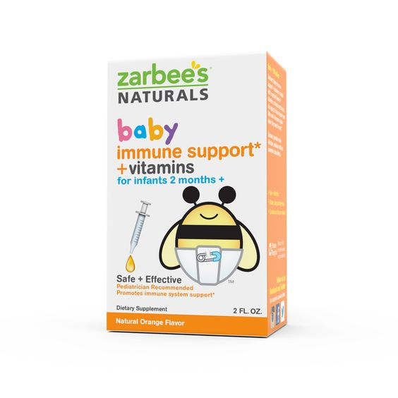 Zarbee S Baby Immune Support Vitamins Is Made With A