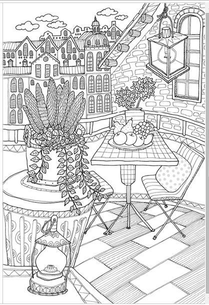 Invite To Scandi MADE IN KOREA Coloring Book For