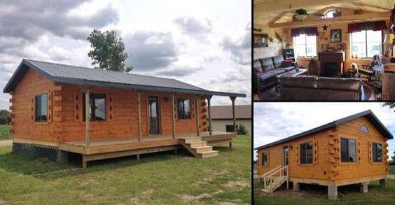 Log Cabins Log Cabin Modular Homes And Logs On Pinterest