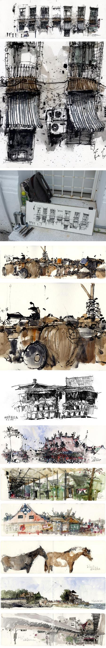 Kiah Kiean, how I wish my sketchbooks came out like this :(