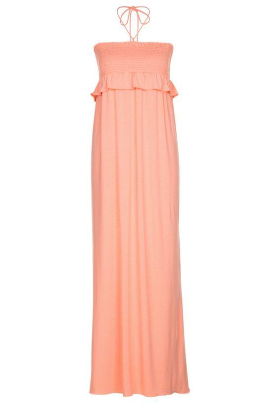 PATRIZIA PEPE Light Orange Maxi Dress