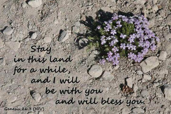 God told Abraham