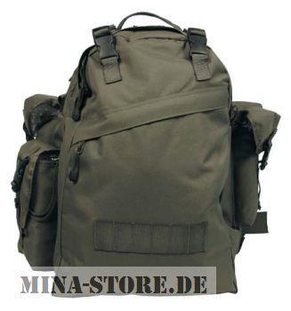 mina-store.de - Rucksack Combo Farbe oliv