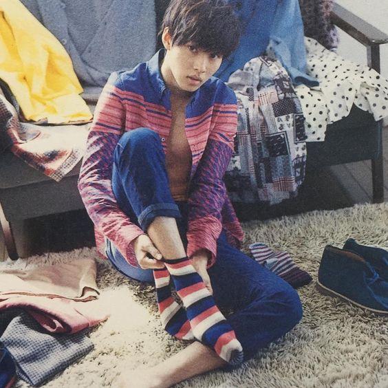 少年っぽい雰囲気の山崎賢人のかわいい画像