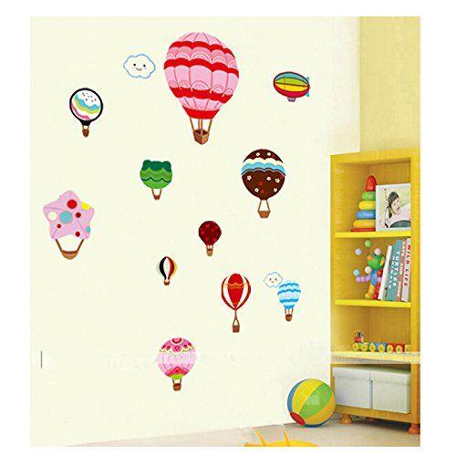 Luftballon Wandtattoo Wandaufkleber Wandsticker Wandbilder für Schlafzimmer und Wohnzimmer kaigeli http://www.amazon.de/dp/B00MN7V4X0/ref=cm_sw_r_pi_dp_7LPNwb12W3EC7