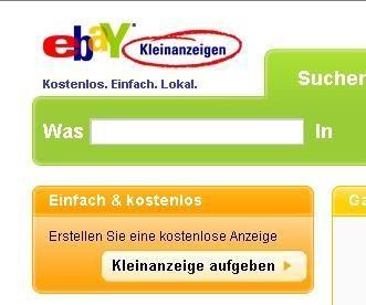 bei ebay anmelden
