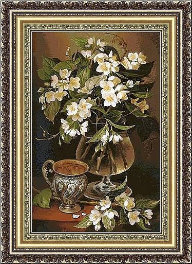 Gallery.ru / Фото #1 - Натюрморт с цветами. - karatik