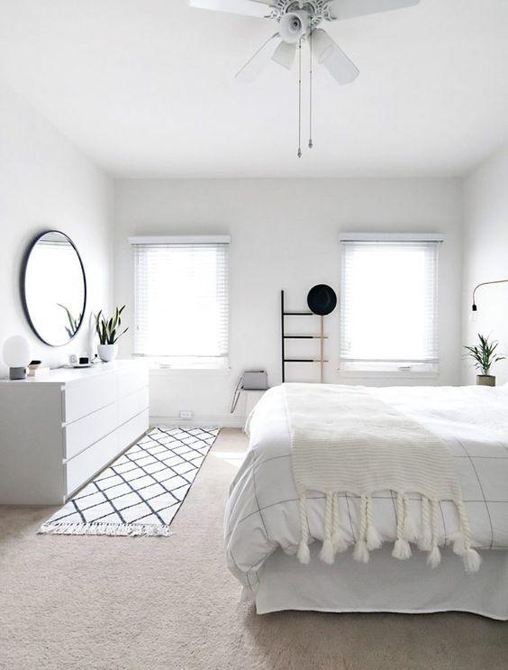 Modern White Small Bedroom Designs Home Bedroom Home Decor Bedroom Bedroom Interior