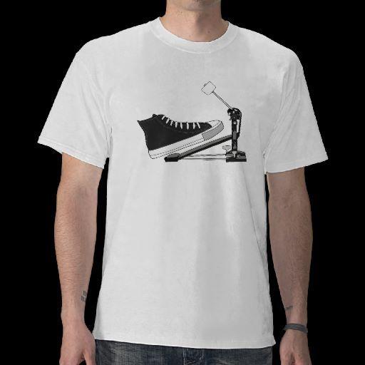 Classic shoe & pedal t-shirt