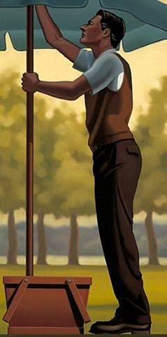 R. Kenton Nelson, Fire and Fall