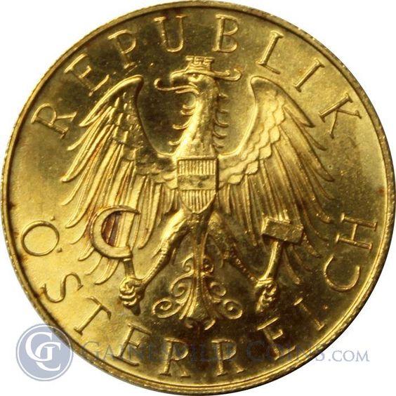 1927 Austrian 25 Schilling Thumbnail Gulzar Gold Coins