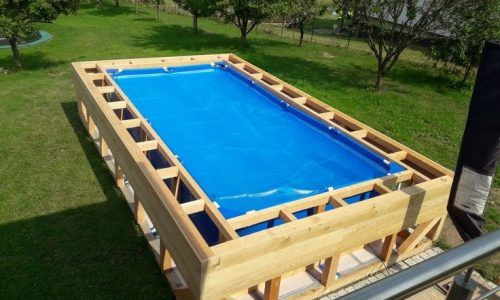 Idee Piscina Cortile En 2020 Amenagement Piscine Habillage