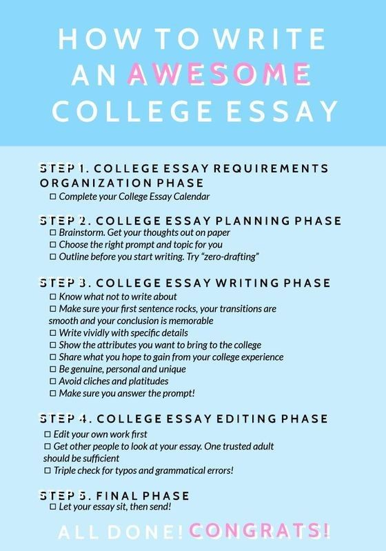 How To Write An Awesome College Essay Writing Help Tips Plagiarism